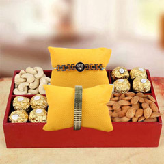 Sweet N Pure Rakhi Hamper
