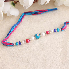 Cute Beaded Rakhi