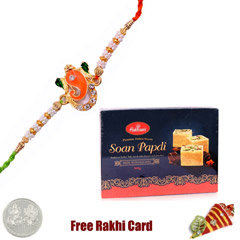 1 Rakhi with Haldiram Soan Papadi 250 grams