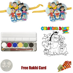 Kids Rakhi Coloring Pack 3