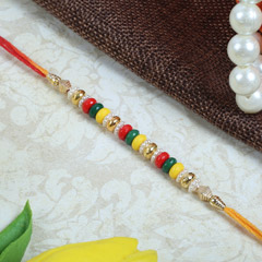 Multicolored Rakhi Thread