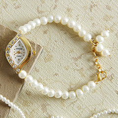 Pearl Jewel Watch