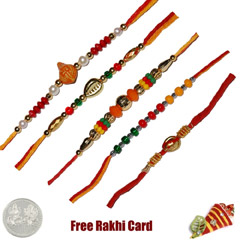Mauli Rakhi Set of 5