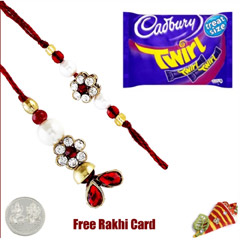 Lumba pair with Cadbury Twirl ..
