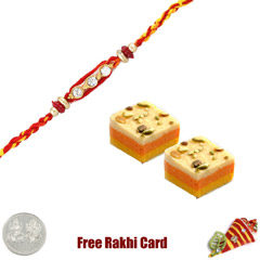 1 Rakhi with 3 Star Burfi and ..