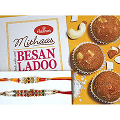 Rakhi & Ladoo Combo for Bro