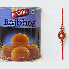 Mouth watering Rakhi Combo