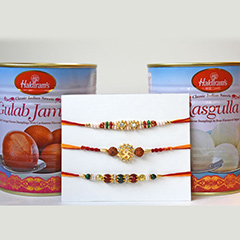 Blissful Rakhi Combo