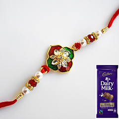 Colourful N Gaudy Rakhi Combo