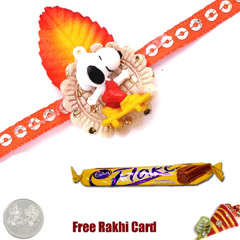 Kids Rakhi with Cadbury Flake ..