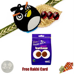 Kids Rakhi with Cadbury Dairy ..