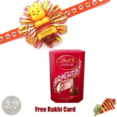 Kids Rakhi with Lindt Lindor M..