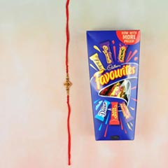 Aum Rakhi With Cadbury Favouri..