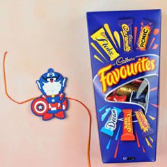 Kids Rakhi With Cadbury Favour..