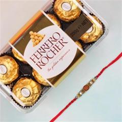 Rudraksh Rakhi & Ferrero Roche..