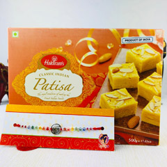 Rakhi With Patisa