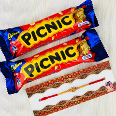 Rajaji Rakhi With Two Picnic C..