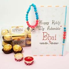 Bhaiya Bhabhi Rakhi & FR 16pc