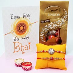 2 Pretty Rakhis with Lindor