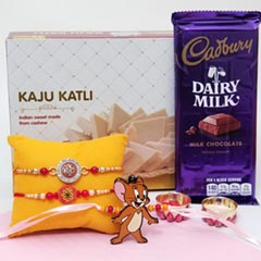 Kaju Katli and Dairy Milk Comb..