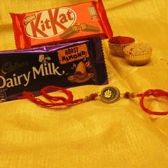 Magical Rakhi with Chocolate B..