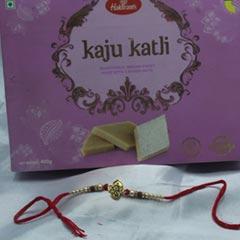 Kaju Katli with Divine Rakhi
