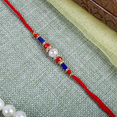Elegant Blue Red Combination T..