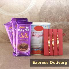 The Joyous Rakhi Combo