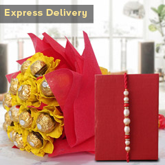 Ferrero Bunch with Rakhi