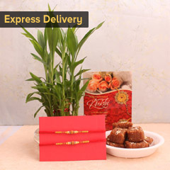 Beautiful Rakhi hamper