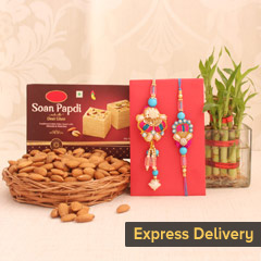 Blissful Rakhi Hamper