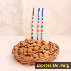 Healthy Trio Rakhi Treat