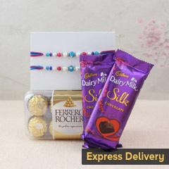 Delicious Chocolaty Rakhi Surp..