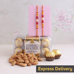 Delectable Rakhi Hamper