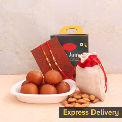 Happiness Doubled Rakhi Hamper
