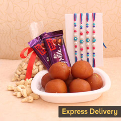 Sweetest Rakhi Hamper