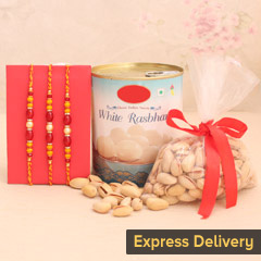 Spectacular Set of 3 Rakhi Com..