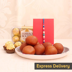 Sweet Rakhi Pleasure