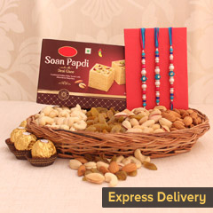 Basket of Rakhi Celebrations