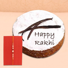 Pearl Rakhi with ½ Kg Vanilla ..