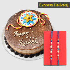 Sweet Chocolaty Rakhi Surprise