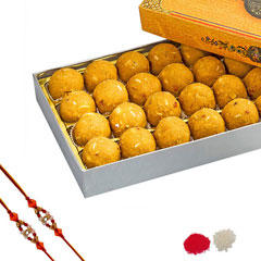 Rakhi with Laddu