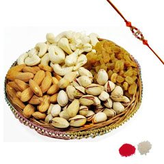 Rakhi and Mixed Dry Fruit