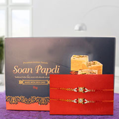 Rakhi and Soan Papdi