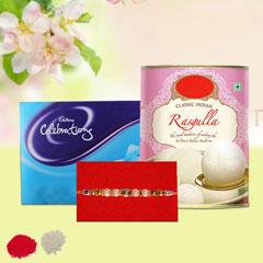Rakhi with Rasgulla and Celebr..