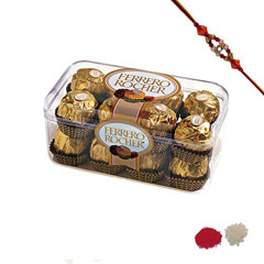 Rakhi with Ferrero