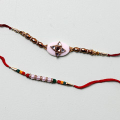 Cheerful Designer Rakhis For B..