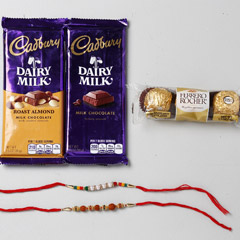 Chocolaty Rakhi Set Of Two