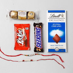 Chocolaty Rakhi Set Of 2
