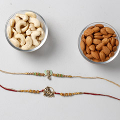 Crunchy Dry Fruits And Rakhi C..